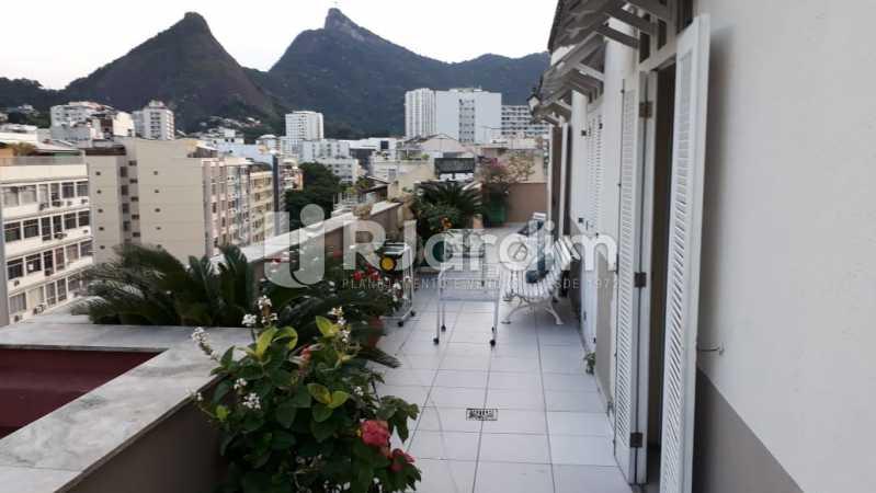 Vista - Cobertura Rua das Laranjeiras,Laranjeiras, Zona Sul,Rio de Janeiro, RJ À Venda, 3 Quartos, 230m² - LACO30288 - 8