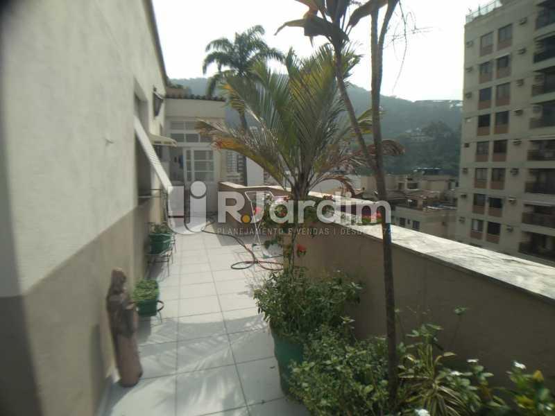 Varanda Fundos - Cobertura Rua das Laranjeiras,Laranjeiras, Zona Sul,Rio de Janeiro, RJ À Venda, 3 Quartos, 230m² - LACO30288 - 25