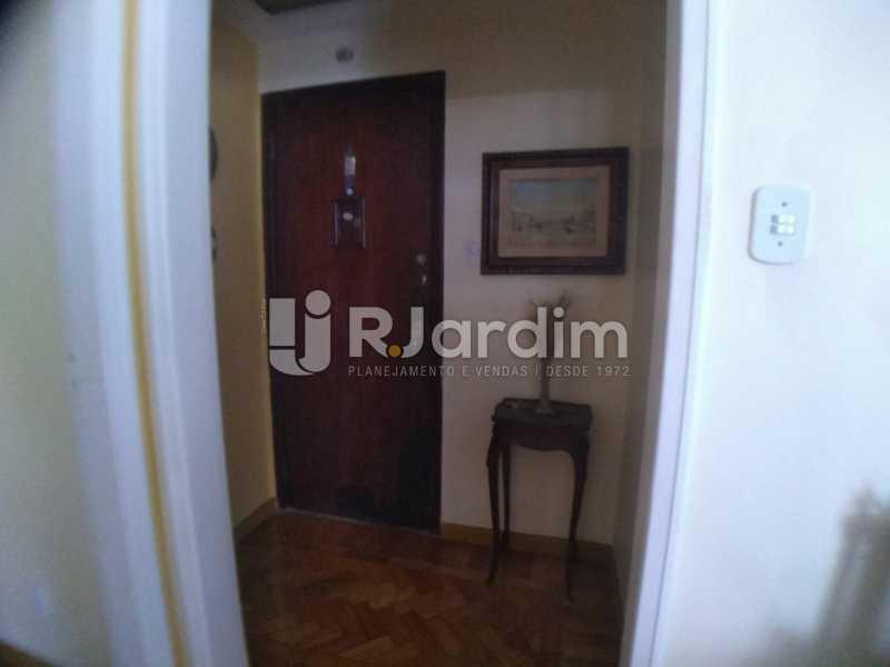 Hall social - Cobertura Rua das Laranjeiras,Laranjeiras, Zona Sul,Rio de Janeiro, RJ À Venda, 3 Quartos, 230m² - LACO30288 - 11