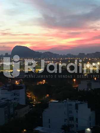 Vista noturna - Apartamento à venda Rua Major Rúbens Vaz,Gávea, Zona Sul,Rio de Janeiro - R$ 2.300.000 - LAAP32166 - 3