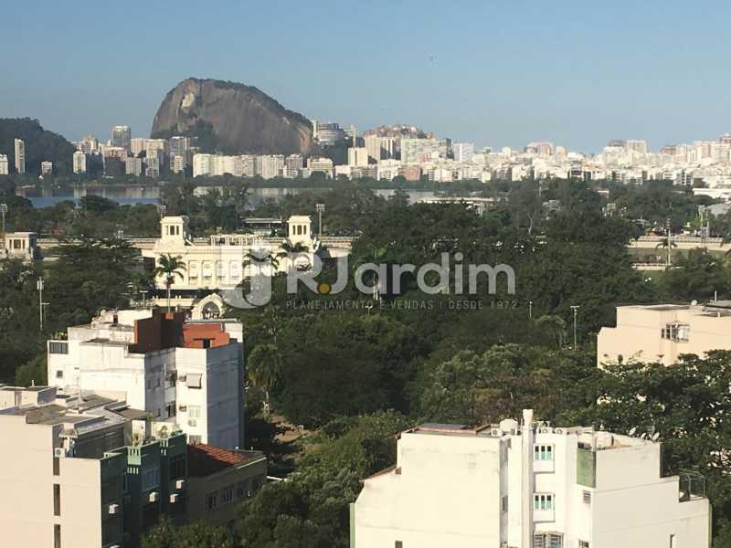 Vista Lagoa - Apartamento à venda Rua Major Rúbens Vaz,Gávea, Zona Sul,Rio de Janeiro - R$ 2.300.000 - LAAP32166 - 8