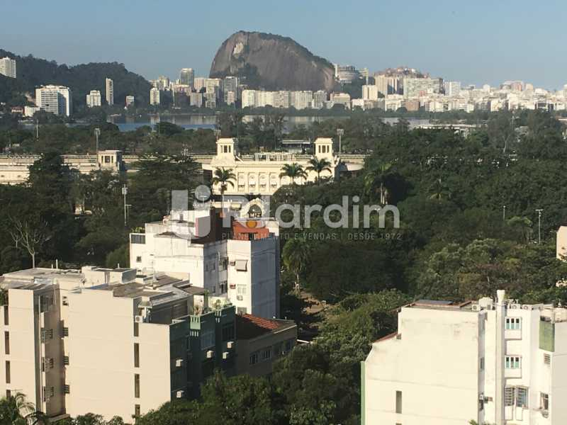 Vista Lagoa - Apartamento à venda Rua Major Rúbens Vaz,Gávea, Zona Sul,Rio de Janeiro - R$ 2.300.000 - LAAP32166 - 1