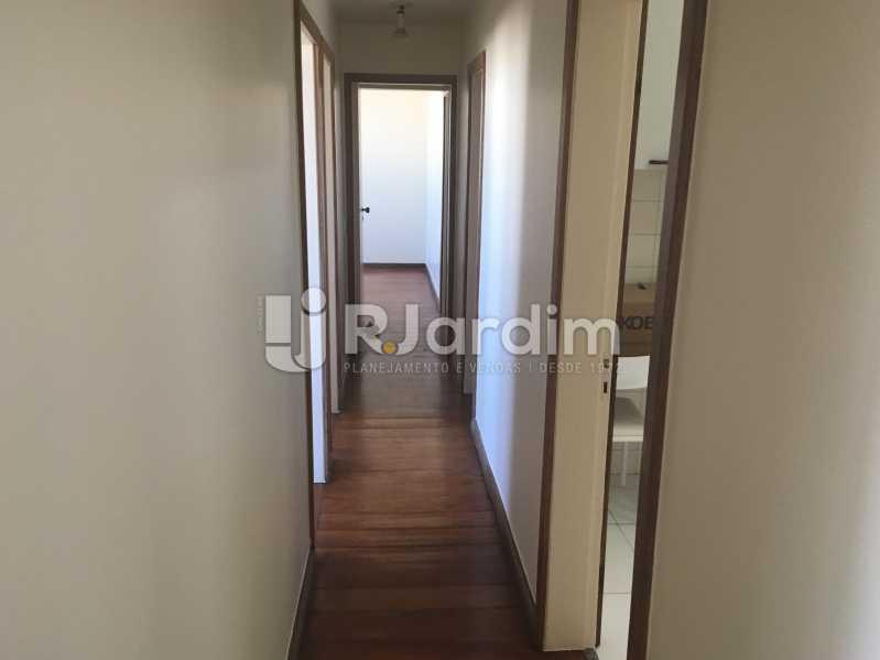 Circulação - Apartamento à venda Rua Major Rúbens Vaz,Gávea, Zona Sul,Rio de Janeiro - R$ 2.300.000 - LAAP32166 - 11