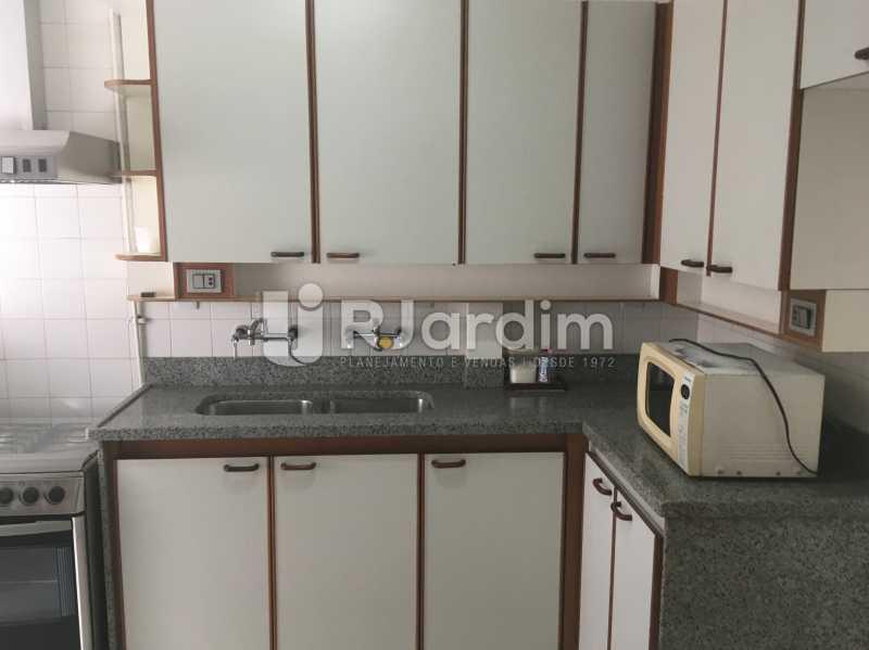 Cozinha - Apartamento à venda Rua Major Rúbens Vaz,Gávea, Zona Sul,Rio de Janeiro - R$ 2.300.000 - LAAP32166 - 21