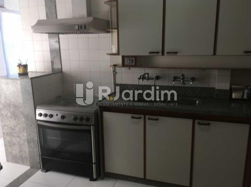 Cozinha - Apartamento à venda Rua Major Rúbens Vaz,Gávea, Zona Sul,Rio de Janeiro - R$ 2.300.000 - LAAP32166 - 22