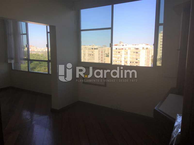 Sala ampliada - Apartamento à venda Rua Major Rúbens Vaz,Gávea, Zona Sul,Rio de Janeiro - R$ 2.300.000 - LAAP32166 - 14