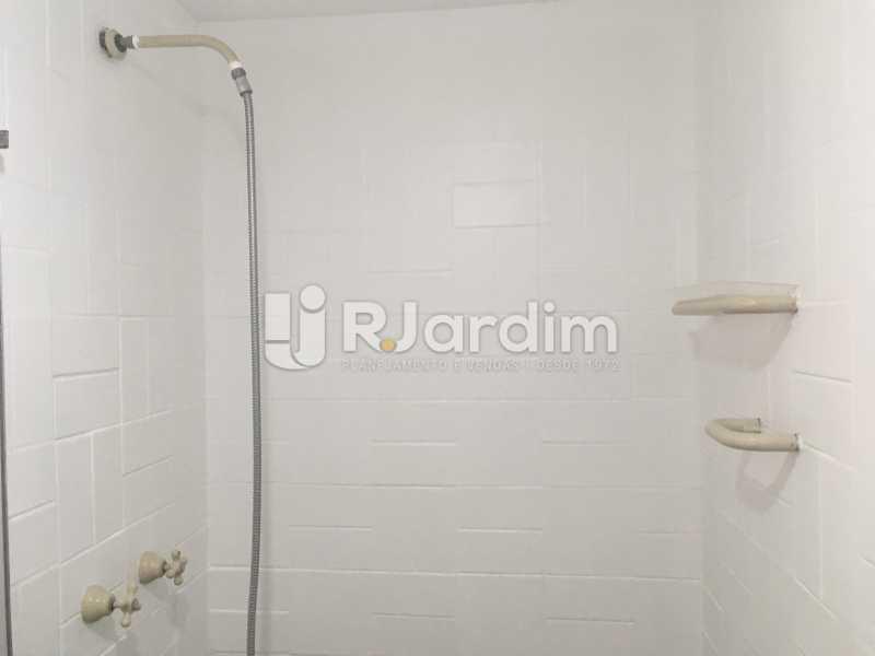 Banheiro de serviço - Apartamento à venda Rua Major Rúbens Vaz,Gávea, Zona Sul,Rio de Janeiro - R$ 2.300.000 - LAAP32166 - 25