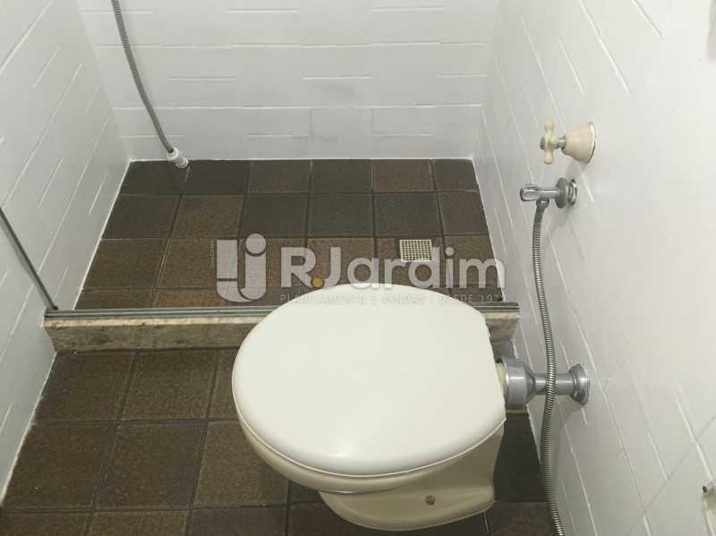 Banheiro serviço - Apartamento à venda Rua Major Rúbens Vaz,Gávea, Zona Sul,Rio de Janeiro - R$ 2.300.000 - LAAP32166 - 26