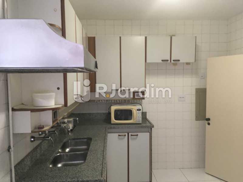 Cozinha - Apartamento à venda Rua Major Rúbens Vaz,Gávea, Zona Sul,Rio de Janeiro - R$ 2.300.000 - LAAP32166 - 20