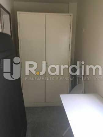 dependência - Apartamento à venda Rua Major Rúbens Vaz,Gávea, Zona Sul,Rio de Janeiro - R$ 2.300.000 - LAAP32166 - 24