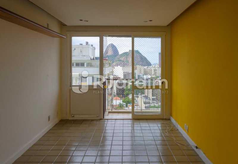 Sala com Vista - Apartamento À Venda Rua Barão de Lucena,Botafogo, Zona Sul,Rio de Janeiro - R$ 1.300.000 - LAAP21553 - 1