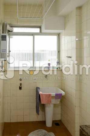 Área de Serviço - Apartamento À Venda Rua Barão de Lucena,Botafogo, Zona Sul,Rio de Janeiro - R$ 1.300.000 - LAAP21553 - 14