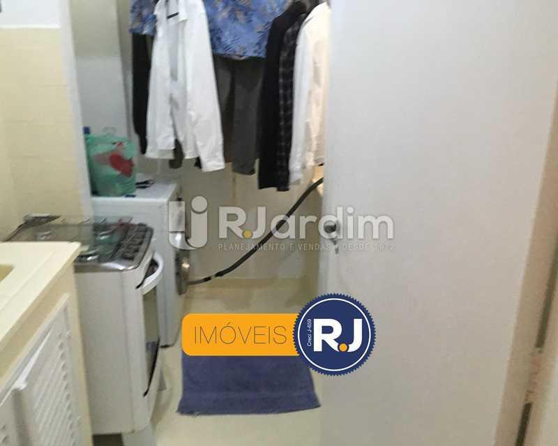 Área de serviço - Apartamento À Venda - Leblon - Rio de Janeiro - RJ - LAAP10383 - 18