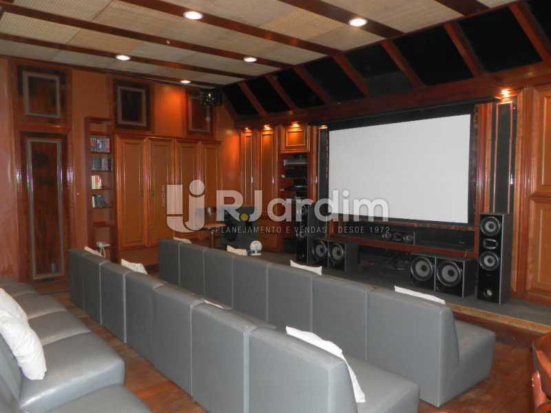 Sala de cinema  - Casa à venda Rua Cosme Velho,Cosme Velho, Zona Sul,Rio de Janeiro - R$ 6.500.000 - LACA40047 - 3