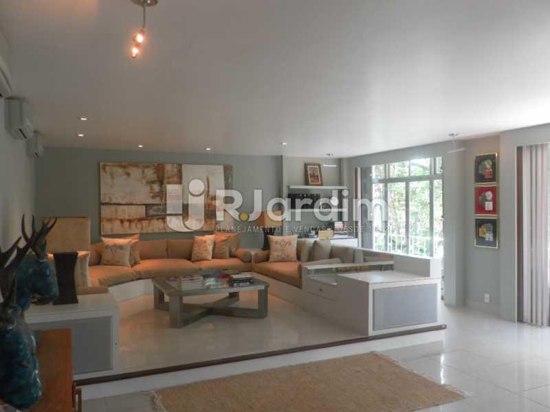 Sala estar  - Casa à venda Rua Cosme Velho,Cosme Velho, Zona Sul,Rio de Janeiro - R$ 6.500.000 - LACA40047 - 6