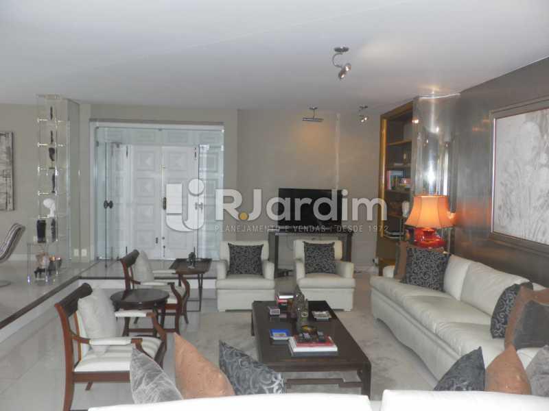Sala de estar  - Casa à venda Rua Cosme Velho,Cosme Velho, Zona Sul,Rio de Janeiro - R$ 6.500.000 - LACA40047 - 10