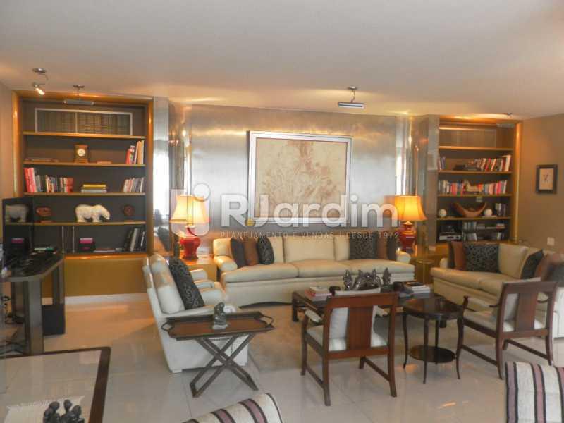 Sala de estar  - Casa à venda Rua Cosme Velho,Cosme Velho, Zona Sul,Rio de Janeiro - R$ 6.500.000 - LACA40047 - 11