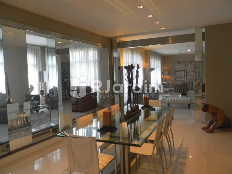 Sala de jantar  - Casa à venda Rua Cosme Velho,Cosme Velho, Zona Sul,Rio de Janeiro - R$ 6.500.000 - LACA40047 - 13