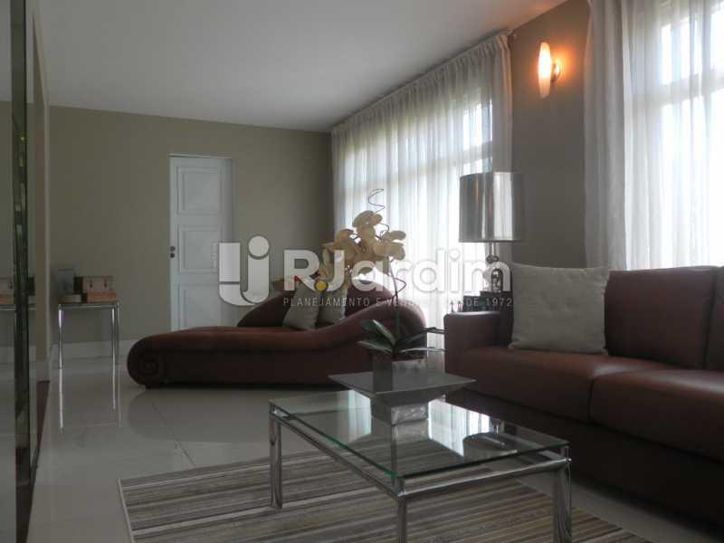 Sala de estar  - Casa à venda Rua Cosme Velho,Cosme Velho, Zona Sul,Rio de Janeiro - R$ 6.500.000 - LACA40047 - 14