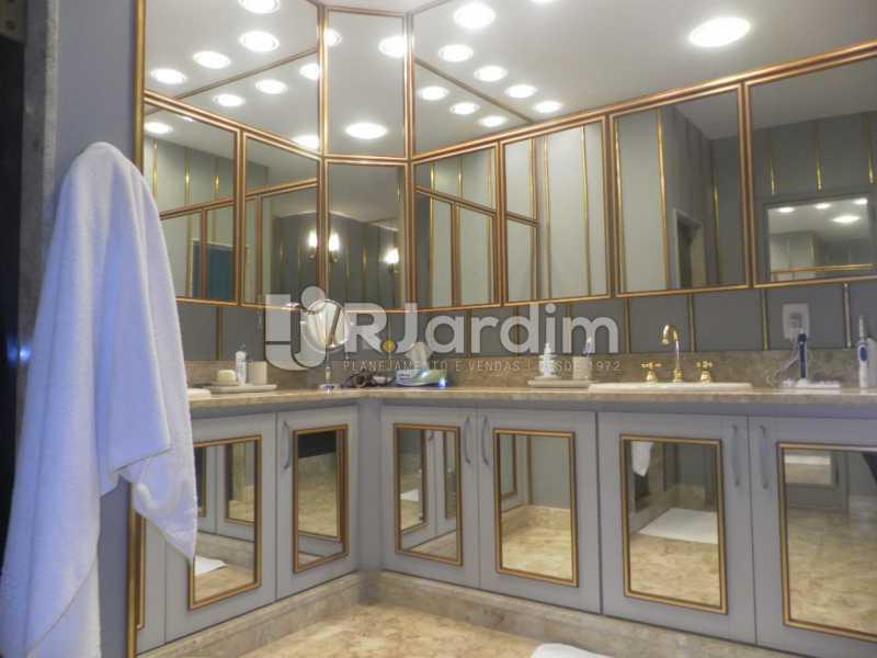 Banheiro  - Casa à venda Rua Cosme Velho,Cosme Velho, Zona Sul,Rio de Janeiro - R$ 6.500.000 - LACA40047 - 19