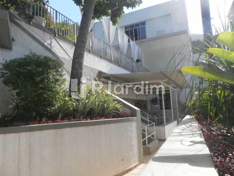 Areá externa - Casa à venda Rua Cosme Velho,Cosme Velho, Zona Sul,Rio de Janeiro - R$ 6.500.000 - LACA40047 - 25
