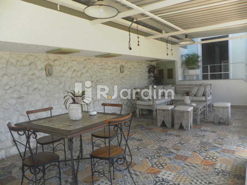 Areá externa  - Casa à venda Rua Cosme Velho,Cosme Velho, Zona Sul,Rio de Janeiro - R$ 6.500.000 - LACA40047 - 26