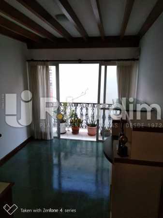Sala - Apartamento Rua Dias Ferreira,Leblon,Zona Sul,Rio de Janeiro,RJ À Venda,2 Quartos,77m² - LAAP21563 - 3