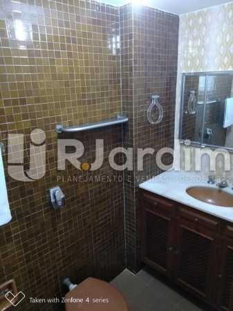 Banheiro suíte - Apartamento À Venda - Leblon - Rio de Janeiro - RJ - LAAP21563 - 14