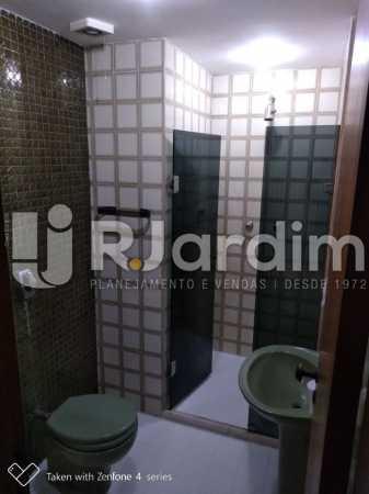 Banheiro - Apartamento Rua Dias Ferreira,Leblon,Zona Sul,Rio de Janeiro,RJ À Venda,2 Quartos,77m² - LAAP21563 - 17