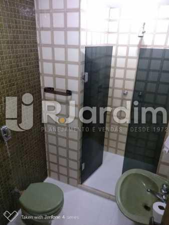 Banheiro social - Apartamento Rua Dias Ferreira,Leblon,Zona Sul,Rio de Janeiro,RJ À Venda,2 Quartos,77m² - LAAP21563 - 19