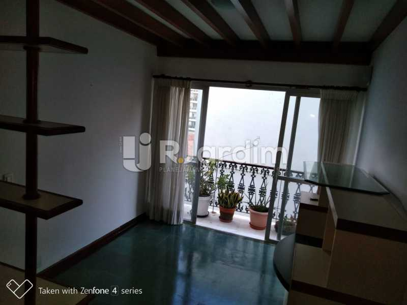 Sala - Apartamento Rua Dias Ferreira,Leblon,Zona Sul,Rio de Janeiro,RJ À Venda,2 Quartos,77m² - LAAP21563 - 12