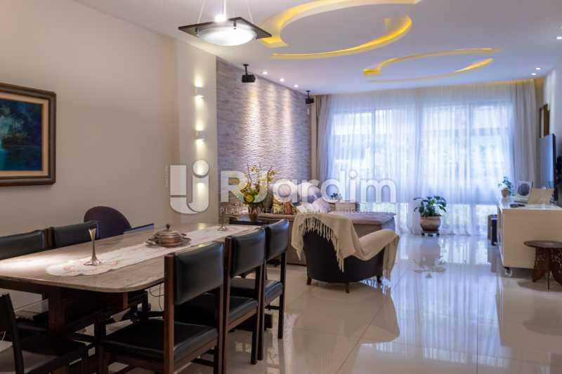 Sala Ampla - Apartamento Rua Conde Afonso Celso,Jardim Botânico,Zona Sul,Rio de Janeiro,RJ À Venda,3 Quartos,127m² - LAAP32182 - 1