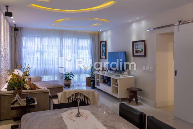 Sala Ampla - Apartamento Rua Conde Afonso Celso,Jardim Botânico,Zona Sul,Rio de Janeiro,RJ À Venda,3 Quartos,127m² - LAAP32182 - 3