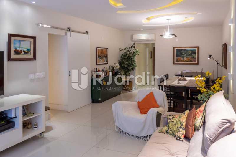Sala Ampla - Apartamento Rua Conde Afonso Celso,Jardim Botânico,Zona Sul,Rio de Janeiro,RJ À Venda,3 Quartos,127m² - LAAP32182 - 5