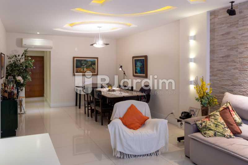 Sala Ampla - Apartamento Rua Conde Afonso Celso,Jardim Botânico,Zona Sul,Rio de Janeiro,RJ À Venda,3 Quartos,127m² - LAAP32182 - 6