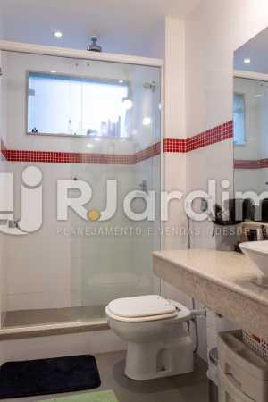 Banheiro da Suíte - Apartamento Rua Conde Afonso Celso,Jardim Botânico,Zona Sul,Rio de Janeiro,RJ À Venda,3 Quartos,127m² - LAAP32182 - 11