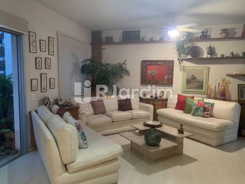 Sala de estar - Apartamento à venda Rua General Rabelo,Gávea, Zona Sul,Rio de Janeiro - R$ 2.400.000 - LAAP21564 - 3