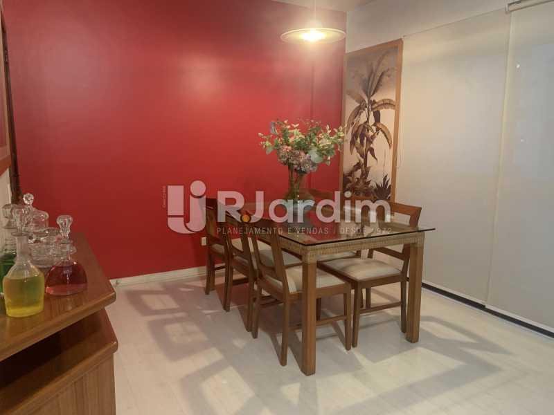 Sala de jantar  - Apartamento à venda Rua General Rabelo,Gávea, Zona Sul,Rio de Janeiro - R$ 2.400.000 - LAAP21564 - 9