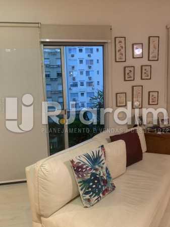 Sala de estar - Apartamento à venda Rua General Rabelo,Gávea, Zona Sul,Rio de Janeiro - R$ 2.400.000 - LAAP21564 - 4