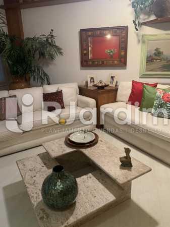 Sala de estar  - Apartamento à venda Rua General Rabelo,Gávea, Zona Sul,Rio de Janeiro - R$ 2.400.000 - LAAP21564 - 6
