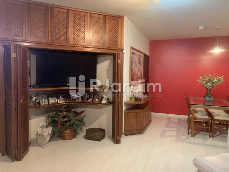 Sala de estar - Apartamento à venda Rua General Rabelo,Gávea, Zona Sul,Rio de Janeiro - R$ 2.400.000 - LAAP21564 - 7