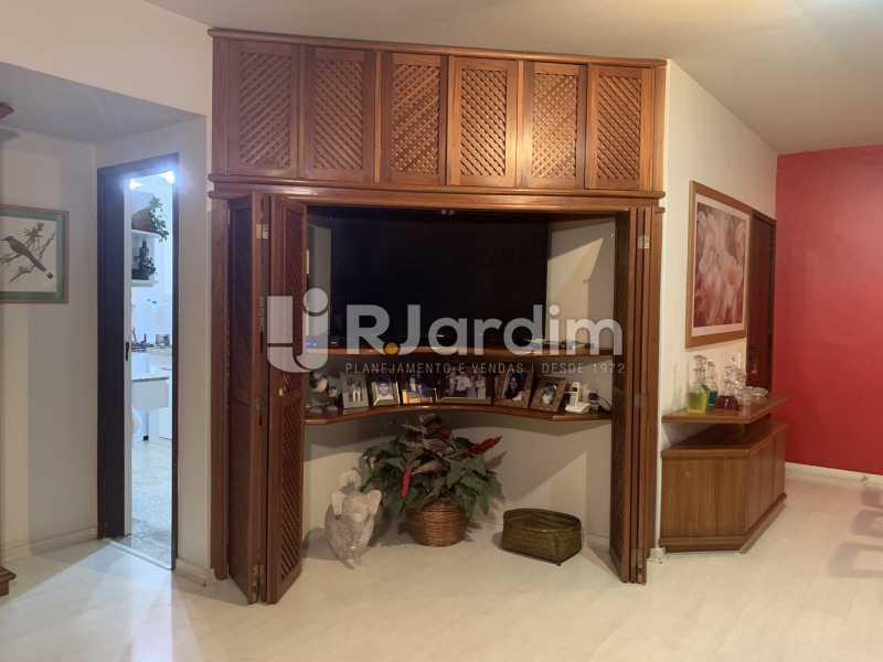 Sala de estar  - Apartamento à venda Rua General Rabelo,Gávea, Zona Sul,Rio de Janeiro - R$ 2.400.000 - LAAP21564 - 8