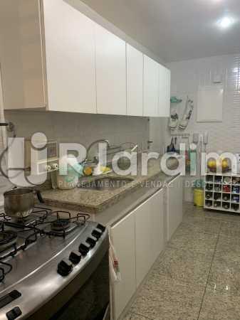 Cozinha - Apartamento à venda Rua General Rabelo,Gávea, Zona Sul,Rio de Janeiro - R$ 2.400.000 - LAAP21564 - 11