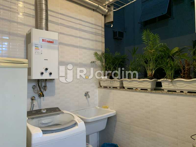 Area de serviço - Apartamento à venda Rua General Rabelo,Gávea, Zona Sul,Rio de Janeiro - R$ 2.400.000 - LAAP21564 - 13