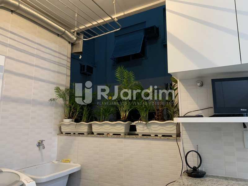 Areá de serviço - Apartamento à venda Rua General Rabelo,Gávea, Zona Sul,Rio de Janeiro - R$ 2.400.000 - LAAP21564 - 14