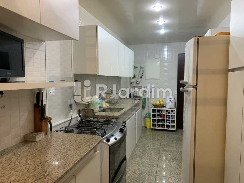 Cozinha - Apartamento à venda Rua General Rabelo,Gávea, Zona Sul,Rio de Janeiro - R$ 2.400.000 - LAAP21564 - 12