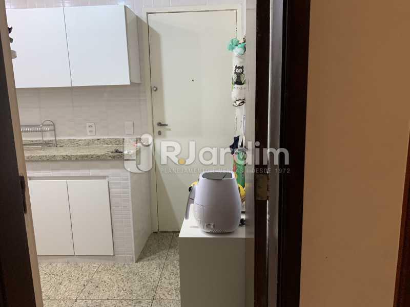 Entrada da cozinha  - Apartamento à venda Rua General Rabelo,Gávea, Zona Sul,Rio de Janeiro - R$ 2.400.000 - LAAP21564 - 10