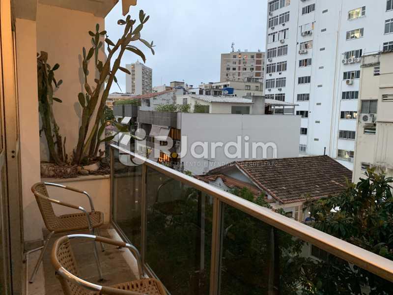 Varanda  - Apartamento à venda Rua General Rabelo,Gávea, Zona Sul,Rio de Janeiro - R$ 2.400.000 - LAAP21564 - 5