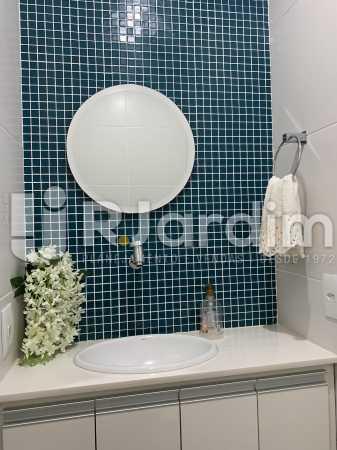 Banheiro - Apartamento à venda Rua General Rabelo,Gávea, Zona Sul,Rio de Janeiro - R$ 2.400.000 - LAAP21564 - 15
