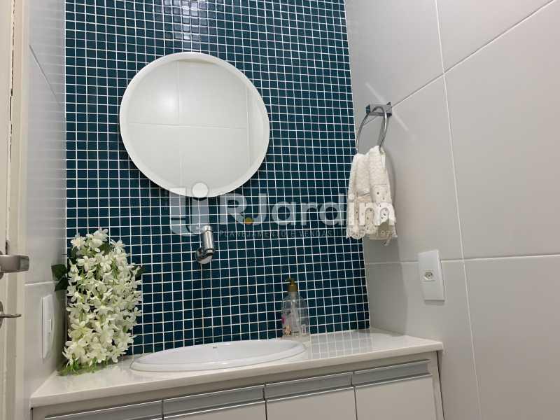Banheiro  - Apartamento à venda Rua General Rabelo,Gávea, Zona Sul,Rio de Janeiro - R$ 2.400.000 - LAAP21564 - 16